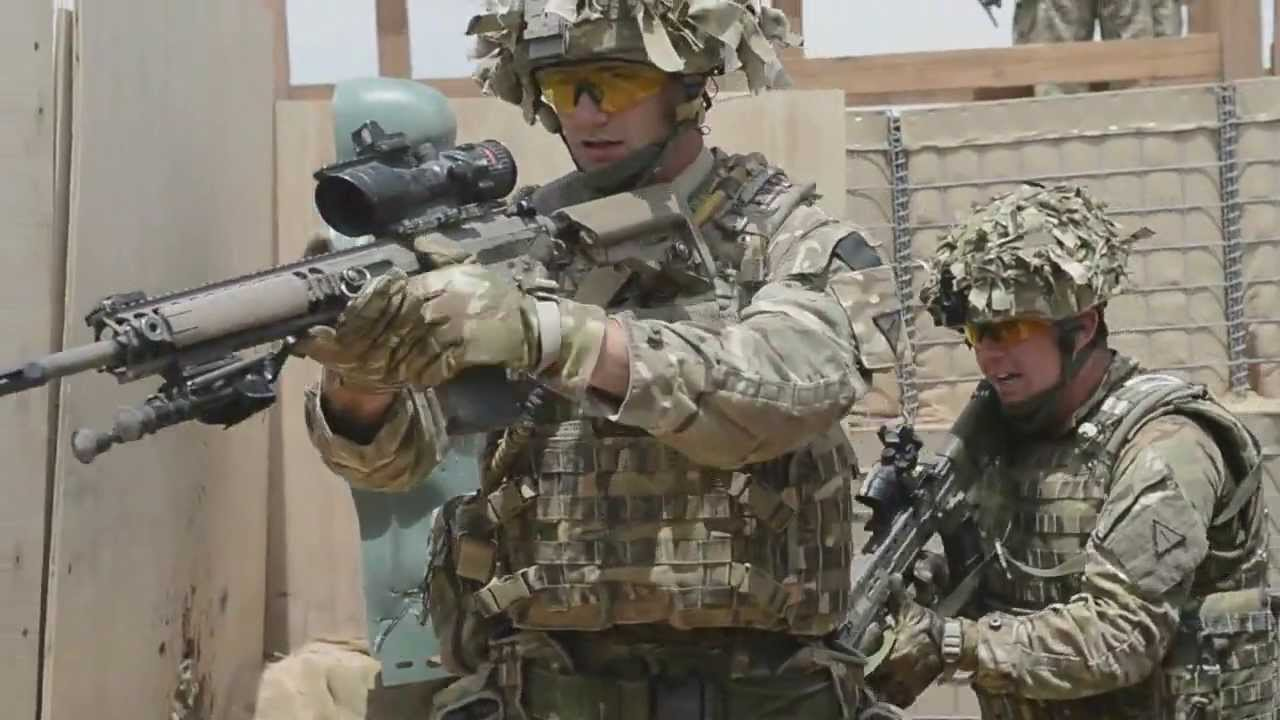 British Army Close Quarters Battle Training Youtube