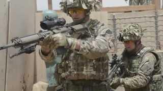 British Army Close Quarters Battle Training