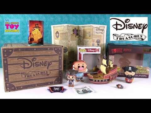 Pirates Cove Funko Disney Treasures April 2017 Opening Unboxing | PSToyReviews