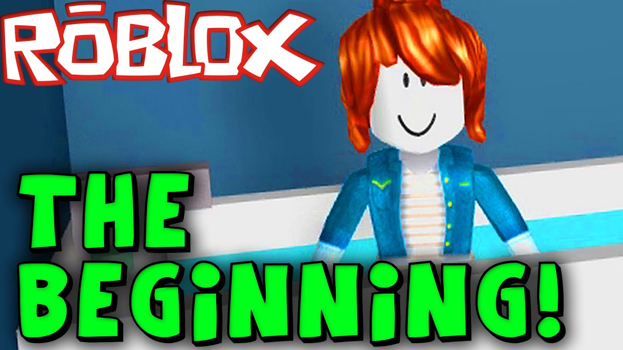 Playing Roblox For The First Time Youtube