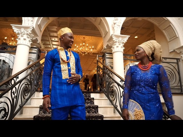 Extravagant Nigerian wedding- Chinwe and Afam