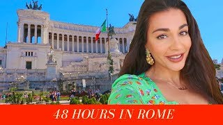 Come To ROME With Me - Travel Vlog
