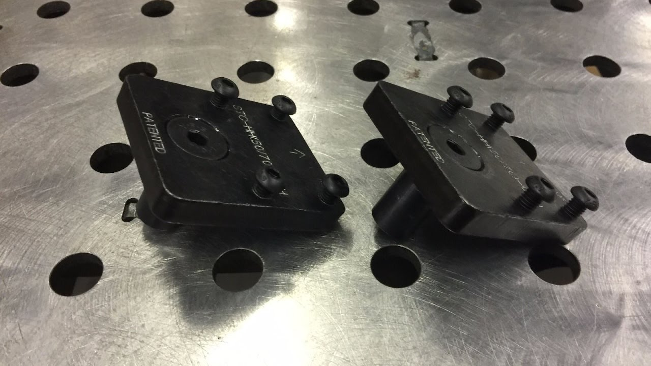 Clamp Plus Toggle Clamp Blocks For Certiflat Welding Table