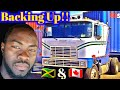 JAMAICAN TRUCKERS BACKING UP TRUCKS in JAMAICA & CANADA 🇨🇦, 40ft Container vs 53ft, Vlog#32