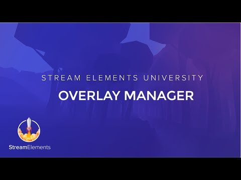 My Overlays – StreamElements