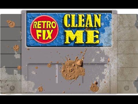 SNES cartridge deep clean
