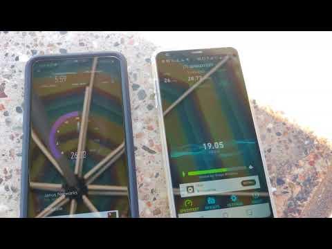 Verizon vs. T-Mobile 4G LTE Speed Test in Santa Cruz/Boardwalk!