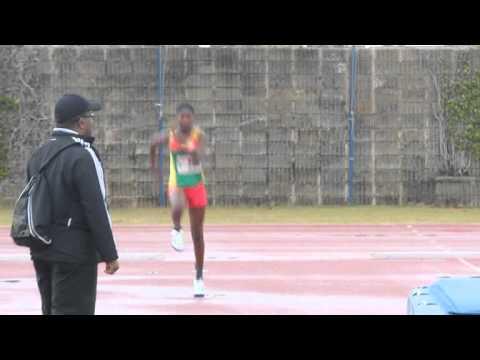 High Jump Girls Carifta Bermuda Apr 7 2012