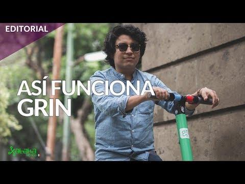 Grin: Así es la primera plataforma de scooters compartidos en la Ciudad de México