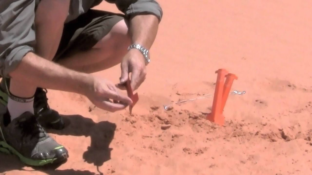 How to Install the Small 9  Toughstake™ Sand Stake & How to Install the Small 9