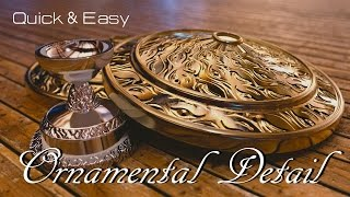 Blender Tutorial : Quick & Easy Ornamental Detail