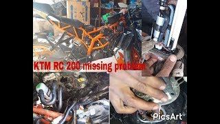 Ktm 200rc missing problem