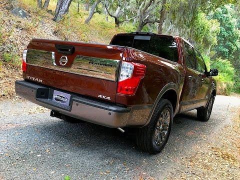 2017 nissan titan half ton 1500 v8 pick up truck tech review 4 of 5 youtube. Black Bedroom Furniture Sets. Home Design Ideas