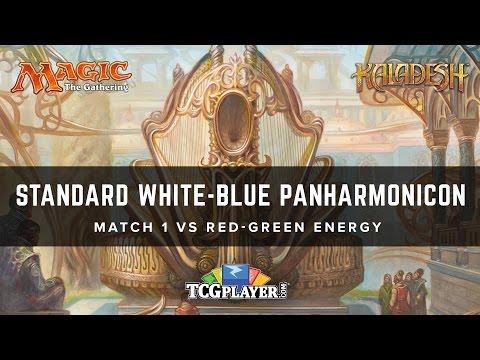 [MTG] Standard Blue-White Panharmonicon | Match 1 VS Red-Green Energy