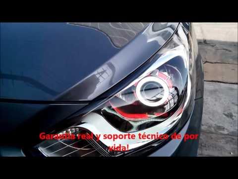 AutosLed Faros personalizados Hyundai Accent 2014