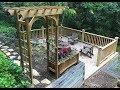 Garden Trellis & Planter Box - Woodworking Timelapse
