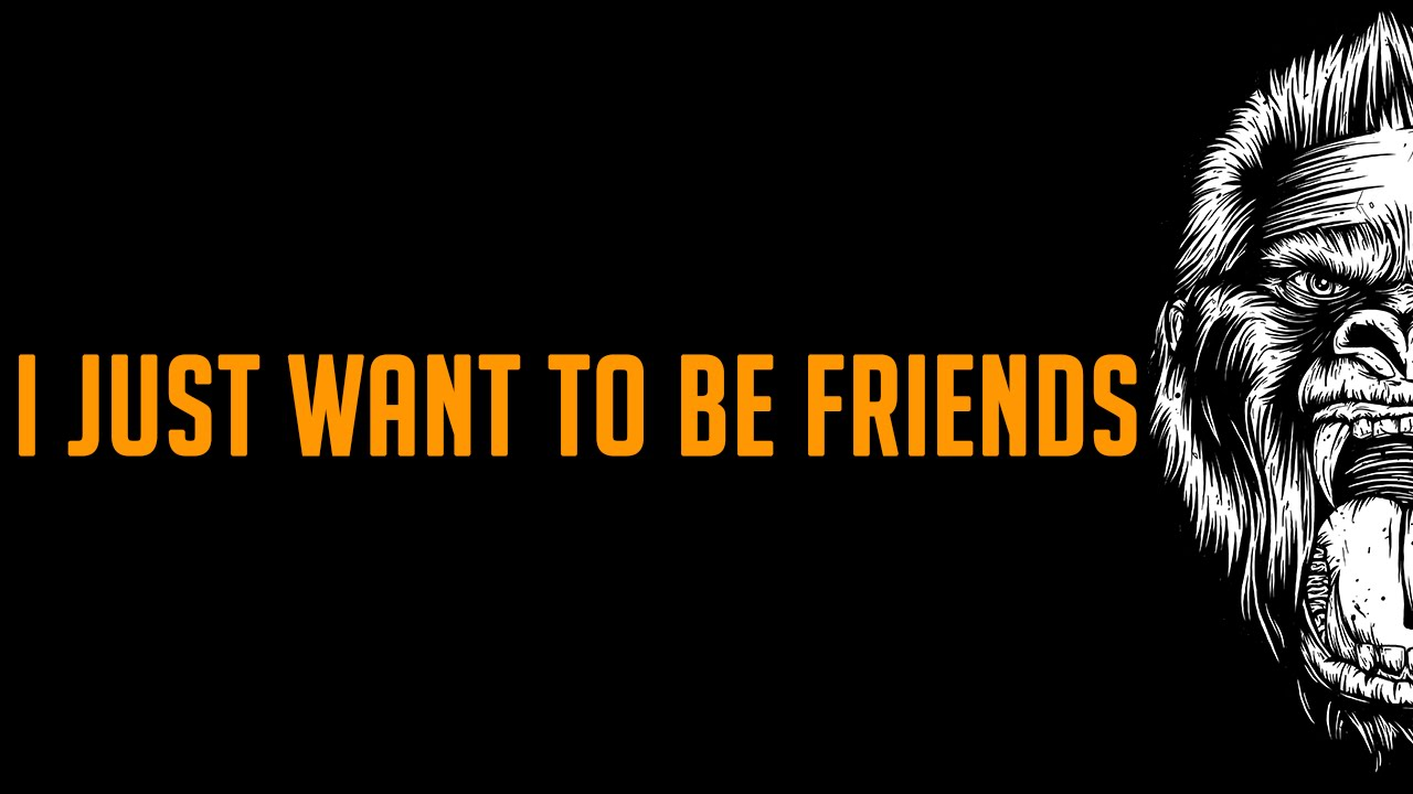 i want to be just friends