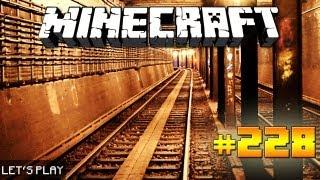 Minecraft - Let's Play - 228: Die U Bahn, Teil 1 [DEUTSCH] [1080p]