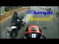 Close Call ! - Yamaha R3 and benelli tnt 600i