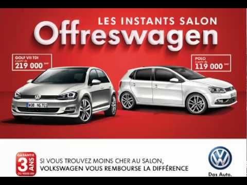 Promotion Volkswagen Golf 7 Amp Polo Maroc Youtube
