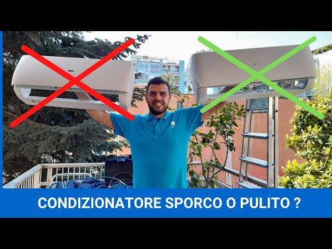 CONDIZIONATORE PULITO? NO GRAZIE! ATTENZIONE!!!!