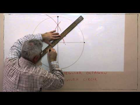 C11--Construct a Regular Octagon Inscribed in a Circle