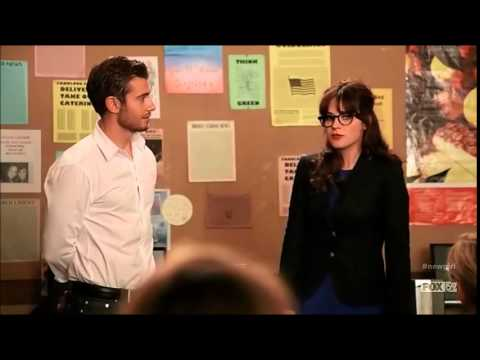 Ryan x Jess 'Shut it down' moment New Girl S4E05