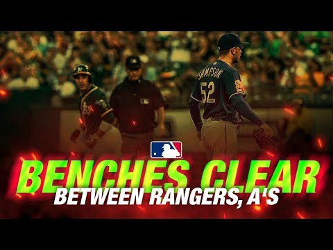 Benches clear in Oakland