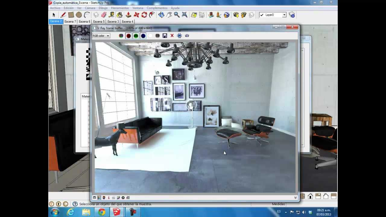 SketchUp and V-ray