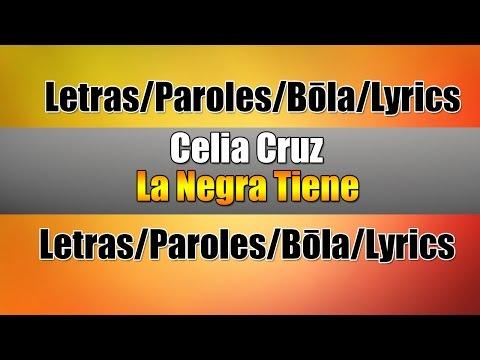 Celia Cruz - La Negra Tiene Tumbao (Lyrics)