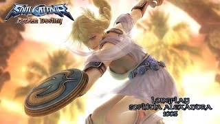 Soul Calibur Broken Destiny [PSP] - The Gauntlet - Sophitia