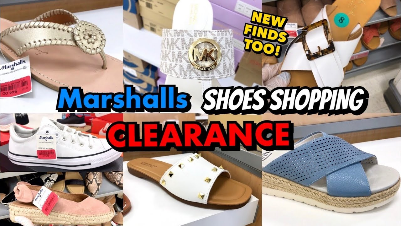 MARSHALLS SHOP WITH ME DESIGNER SHOES CLEARANCE & NEW FINDS | VIRTUAL SHOE SHOPPING