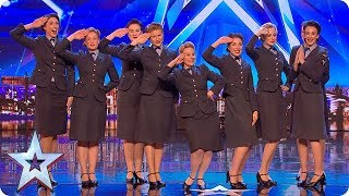 Wartime choir The D-Day Darlings DAZZLE the Judges! | Auditions | BGT 2018