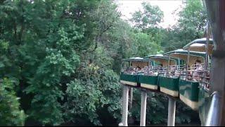 Bengali Express Wild Asia Monorail at the Bronx Zoo On Ride POV