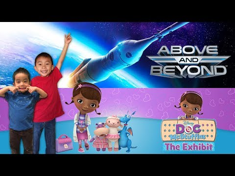 Doc McStuffins The Exhibit & Above and Beyond at Discovery Cube OC: Look Who's Traveling