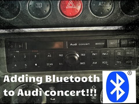 Audi Concert Bluetooth install!!!! EASY (STEP BY STEP)