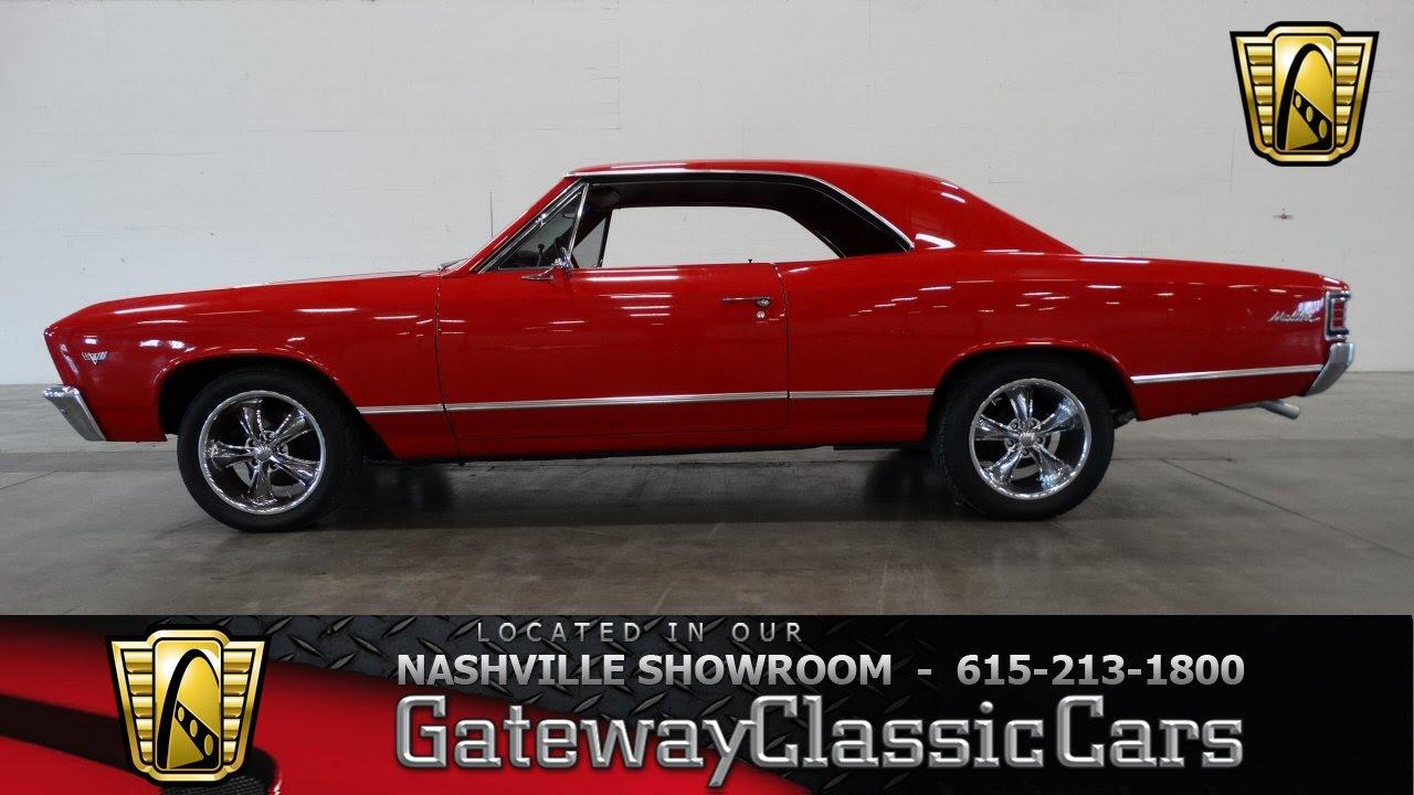 1967 Chevrolet Chevelle - Gateway Classic Cars of ... |Gateway Classic Cars Nashville