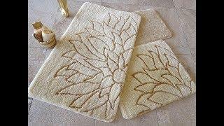 Мягкие коврики для ванной комнаты!  Обзор.