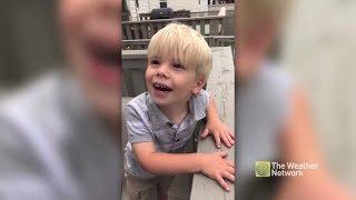 'Tornado Kid' swears he sees something in the clouds