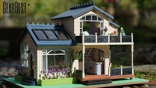 DIY Full Dollhouse Set -