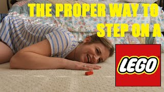Gambar cover 5 Reactions to Stepping on a Lego