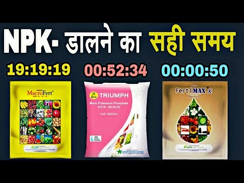 Water Soluble NPK Fertilizer | Plant Growth Tonic