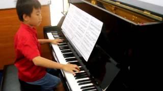 Xin Yuan Yang Hu Die Meng Piano Solo by Michael Manuel Halim 12 years old