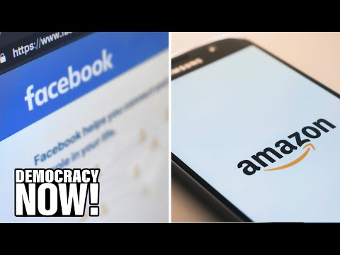 "The End of Big Tech? Calls Grow to Break Up Facebook, Amazon for ""Mob-Like"" Behavior, Monopoly Power"