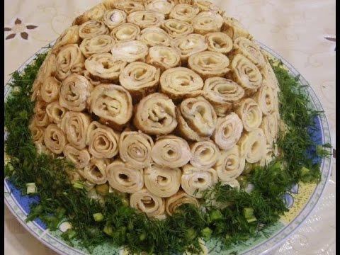 рецепты для праздничного стола с фото салаты