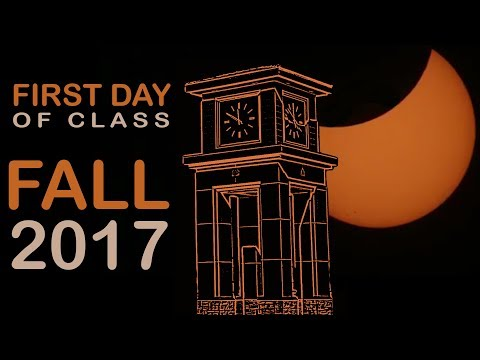 First Day of Class Fall 2017 at MiraCosta College