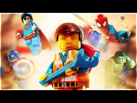 The LEGO Movie 2 Videogame ➤ Прохождение #1 ➤ ВЫЖИВАНИЕ И АПОКАЛИПСИС В ЛЕГО!