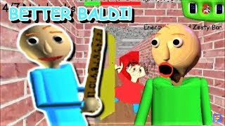 BETTER BALDI IN A BETTER SCHOOLHOUSE!! | Baldi's Basics MOD: Better Baldi's Basics