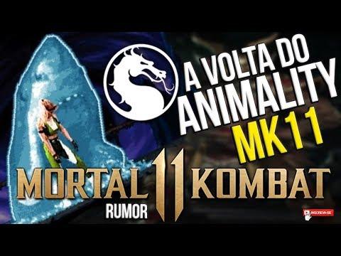 MORTAL KOMBAT 11 - A VOLTA DO ANIMALITY #MK11 #RUMOR #VAZAMENTO thumbnail