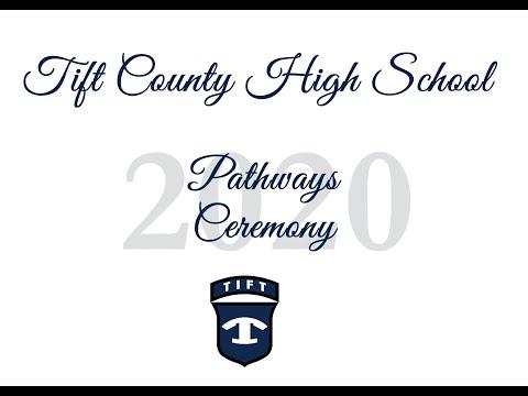 Tift County High School Pathway Ceremony 2020